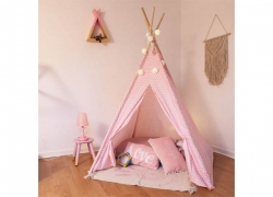 Tipi Déco Enfant 160cm Rose atmosphera for kids