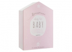 Maison coffret naissance Atmosphera for Kids Rose