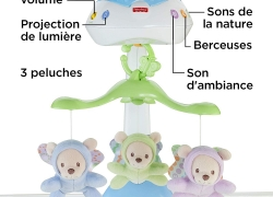 Mobilier musicale Fisher Price projection de lumière