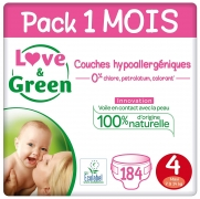 Couches Taille 4/ Love & Green