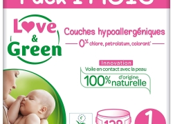 LOVE&GREEN – Couches taille 1