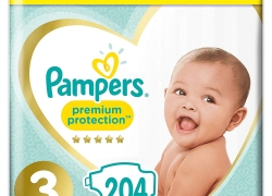 PAMPERS PREMIUM PROTECTION – Pack 1 mois T3 (6-10 kg)