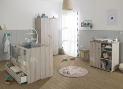 BEBE9 CREATION – Pack lit + commode + armoire