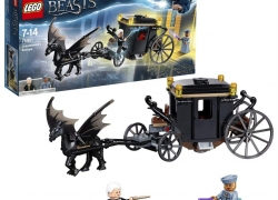 LEGO Harry Potter – L'évasion de Grindelwald – 75951 – Jeu de Construction