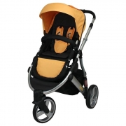 LOOPING Poussette Oakland Jaune 6 m+