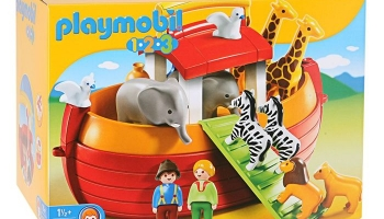 PLAYMOBIL 1.2.3. – Arche de Noé Transportable